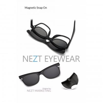 6 in  1 Original Modern TR Frame Nezt02 Magnetic Snap-On Glasses