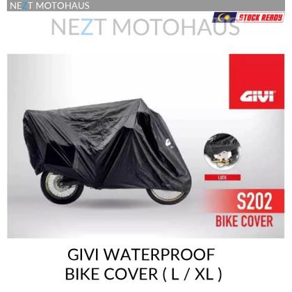GIVI S202 Waterproof Kalis Air Bike Cover With Lock ( L / XL )
